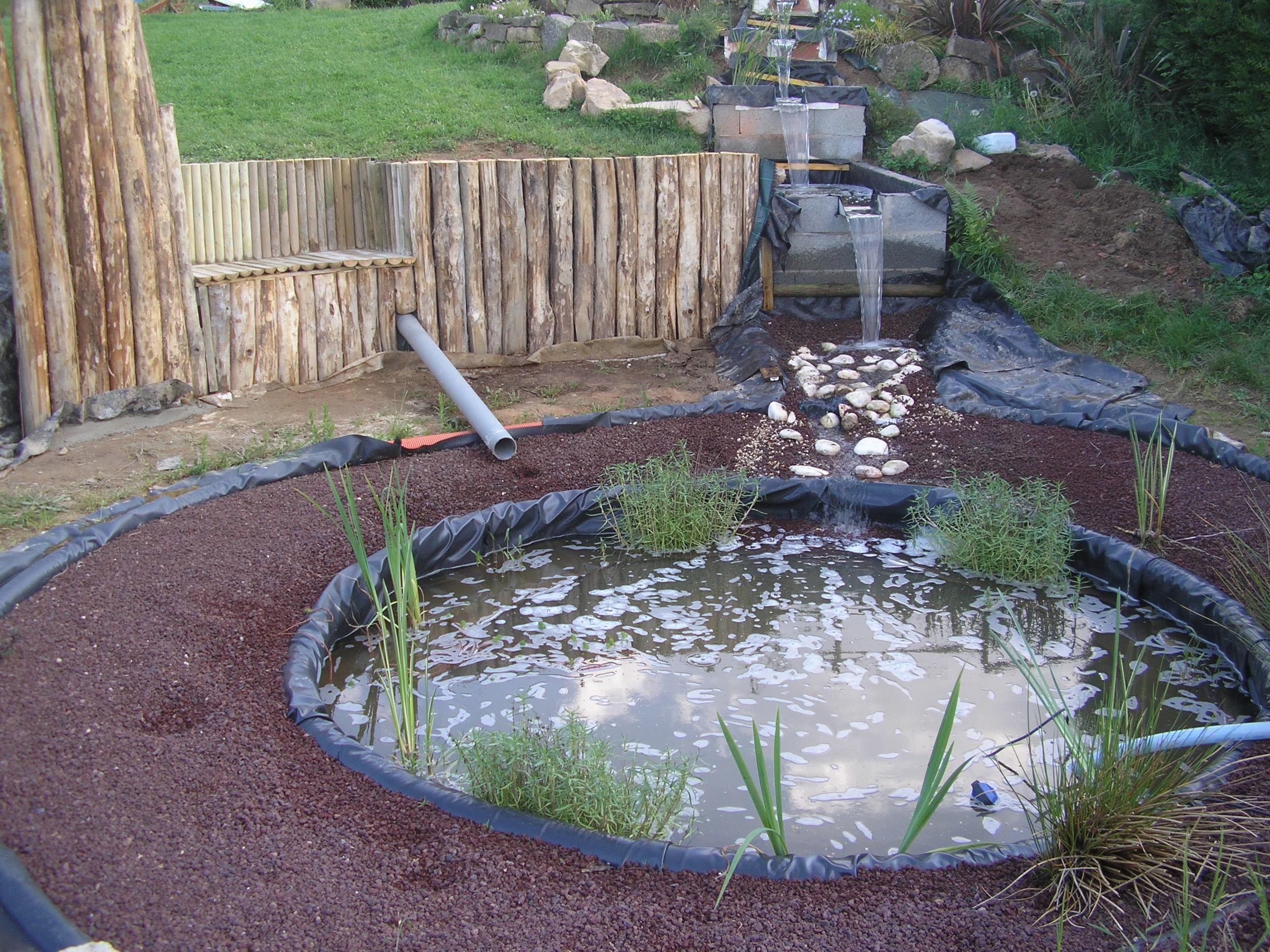 Modèle De Bassin De Jardin en ce qui concerne photo de bassin de jardin avec cascade - fashion designs
